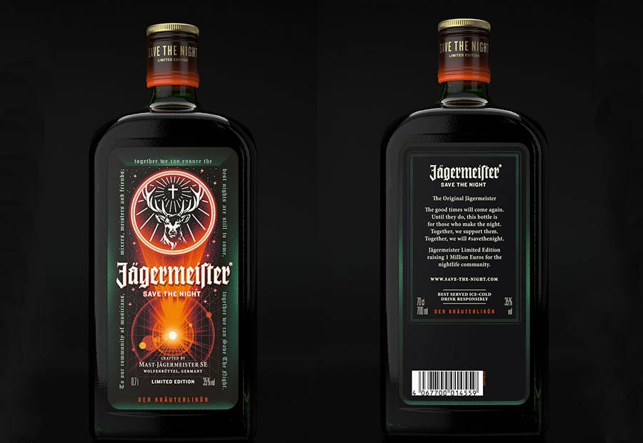 Es la primera vez que Jägermeister rediseña su emblemática etiqueta