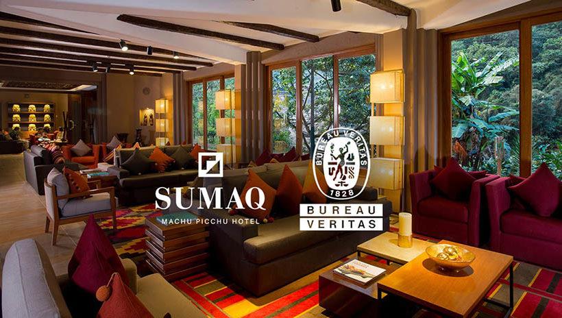 Sumaq Machu Picchu Hotel y Bureau Veritas firman convenio de verificación de bioseguridad