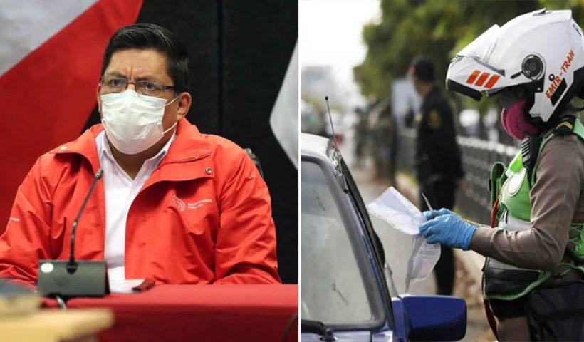 El primer ministro, Vicente Zeballos señaló que el Gobierno aún no ha tomado una decisión específica sobre los pases vehiculares y laborales