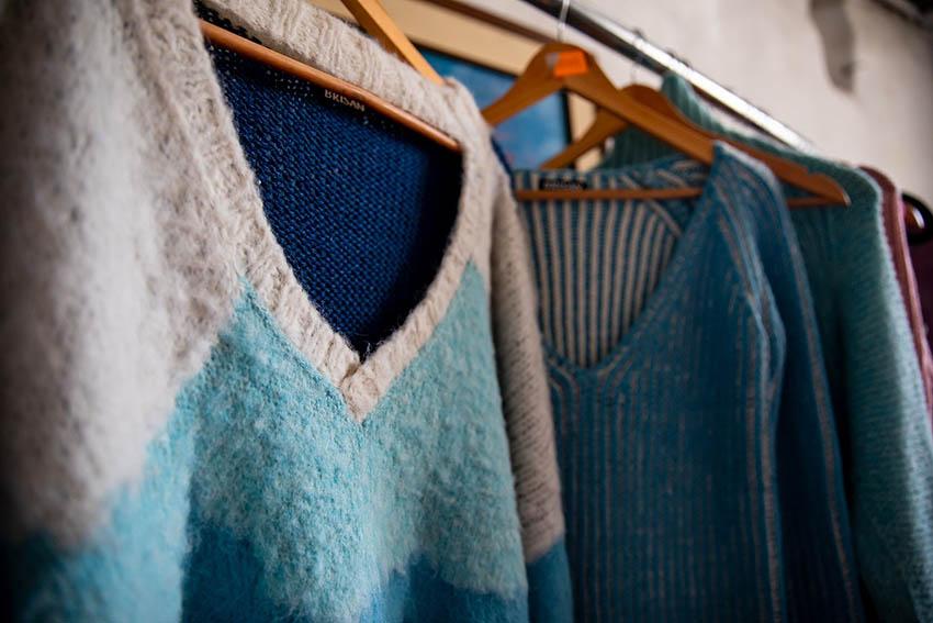 Bajo una oferta sostenible, destacaron -entre los compradores de Estados Unidos- prendas tejidas en alpaca