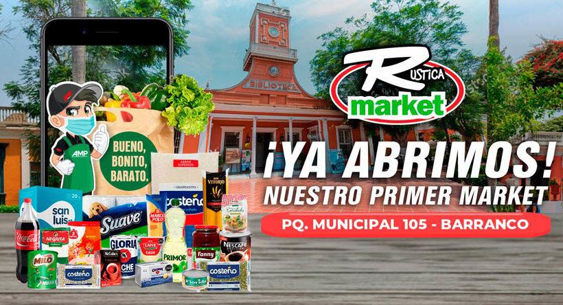 Rústica market pronto estará en otros distritos