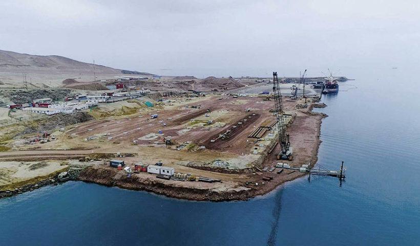Almacén minero en Paracas