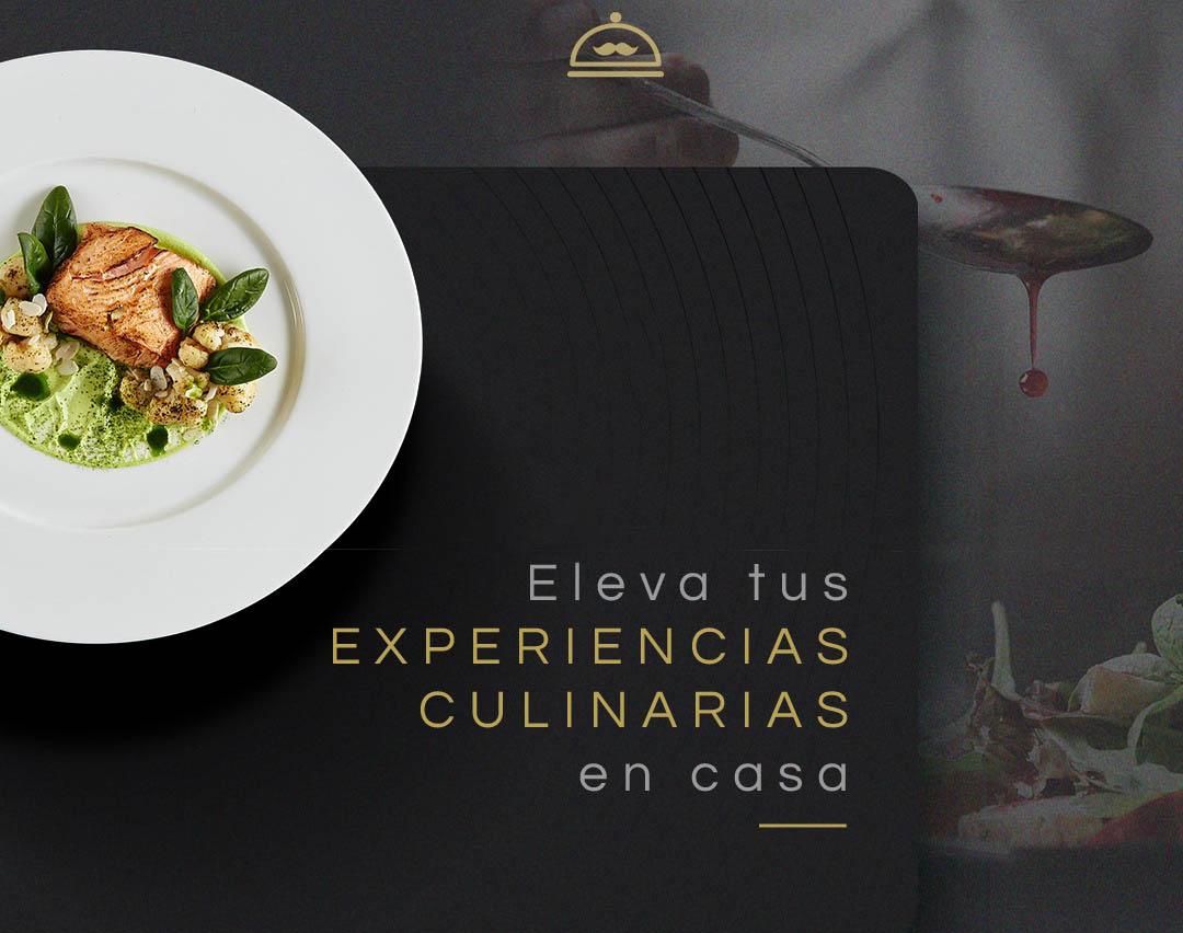 Experiencias Culinarias tiene como objetivo facilitar el servicio delivery de prestigiosos restaurantes