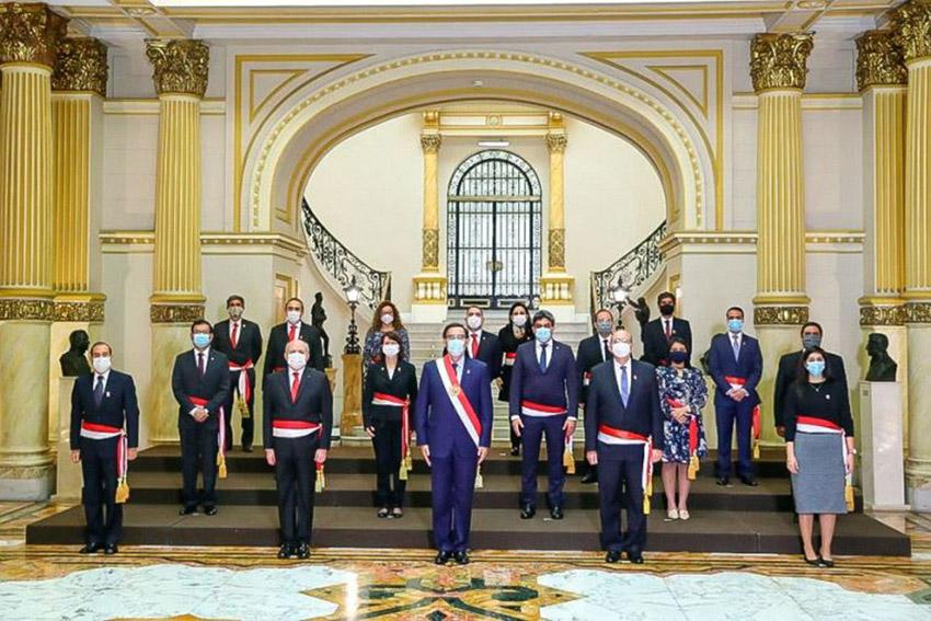 Nuevo Gabinete ministerial juramentó hoy