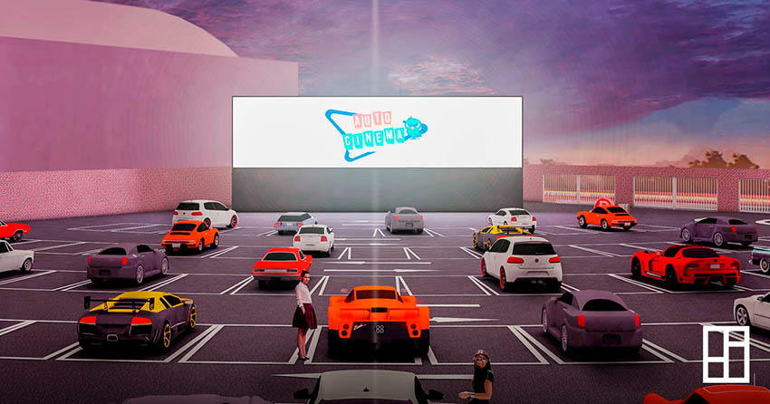 """Autocinema+ abrirá sus puertas el 26 de julio y se proyectarán populares películas como """"ET"""" y """"Jurassic Park""""."""