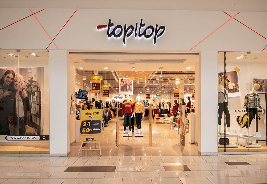 Topitop cerrará seis tiendas, entre ella las del Real Plaza de San Miguel y elJockey Plaza