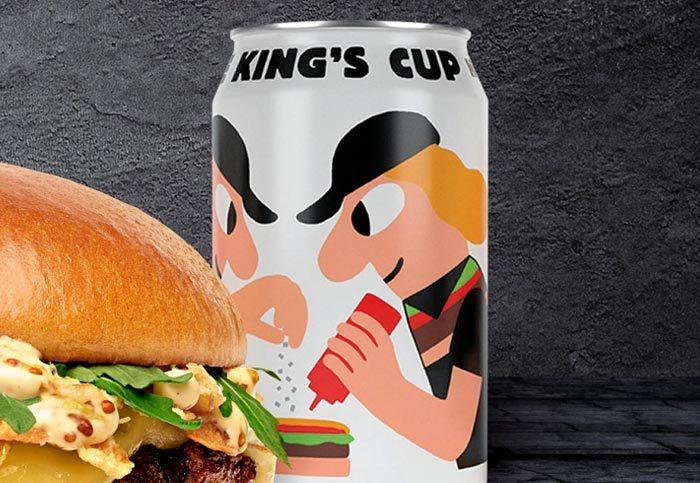 Esta cerveza comenzará a distribuirse en los restaurantes de Burger King a partir de este mes de julio