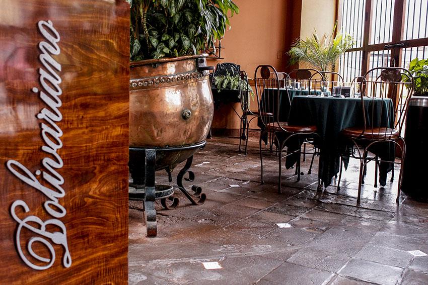 Restaurante El Bolivariano