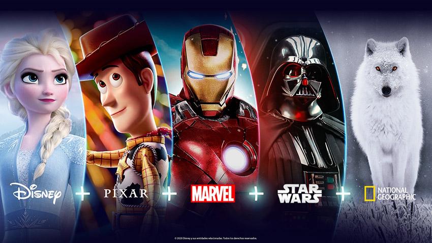 Disney+ llega a Latinoamérica en noviembre