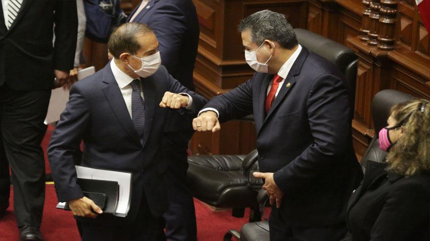 Congreso otorgó voto de confianza al Gabinete Martos