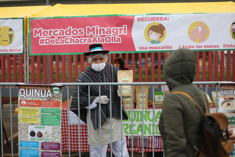 La VIDENA reabrirá sus puertas para recibir al mercado itinerante 'De la Chacra a la Olla'