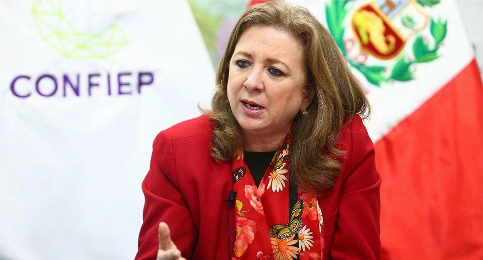 Presidenta de laConfiep, María Isabel León