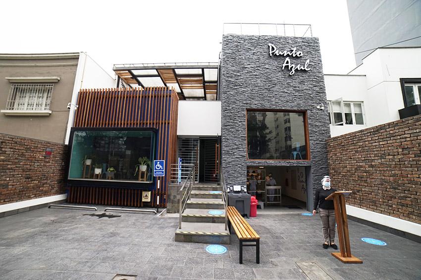 Nuevo restaurante Punto Azul en Miraflores