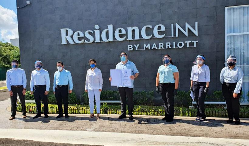 Residence INN by Marriott Mérida obtuvo certificado de buenas prácticas sanitarias