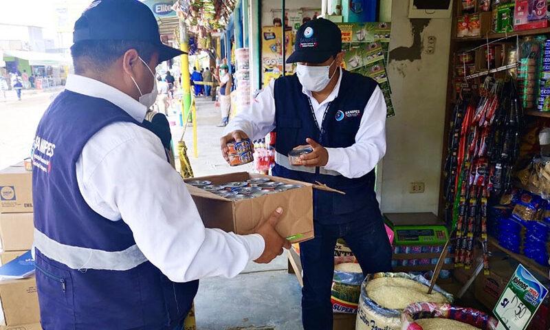 Operativo de Sanipes en Chimbote
