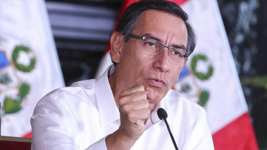 Presidente Vizcarra dio a conocer las nuevas provincias que entrarán en cuarentena