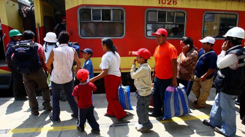 ElTren Lima Chosicafuncionaría a partir de junio del 2021,