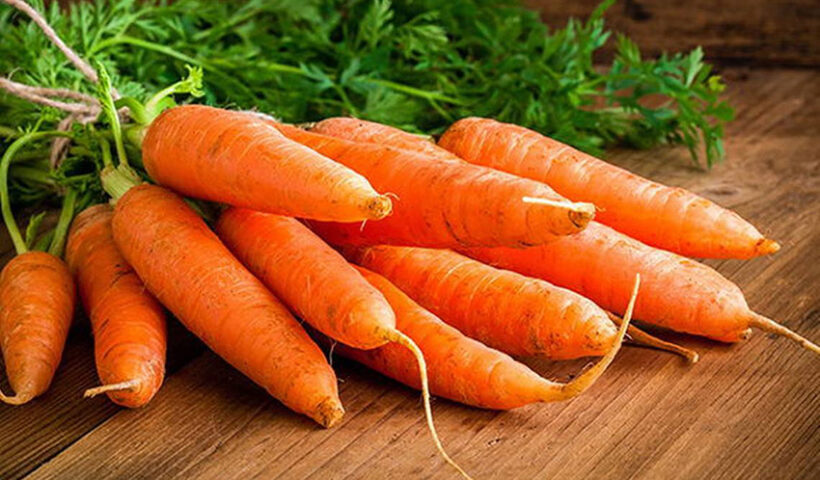 La zanahoria es antiestres y antiedad