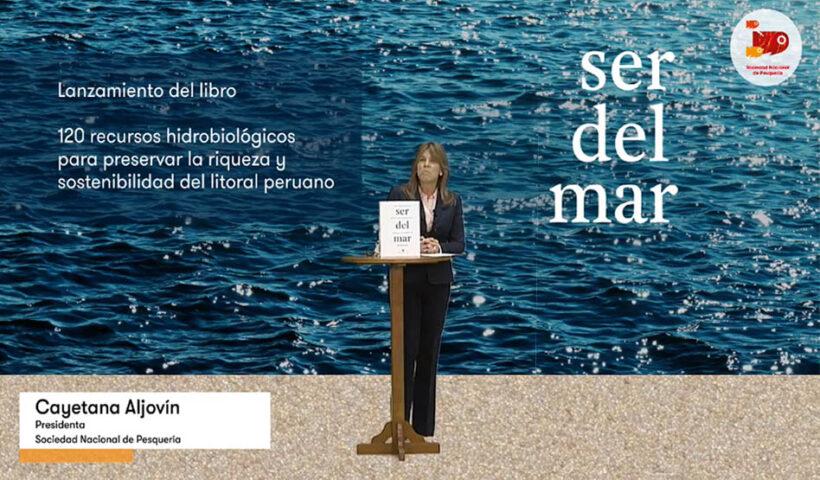 La SNP presentó el libro Ser del Mar: 120 recursos hidrobiológicos para preservar la riqueza y sostenibilidad del litoral peruano
