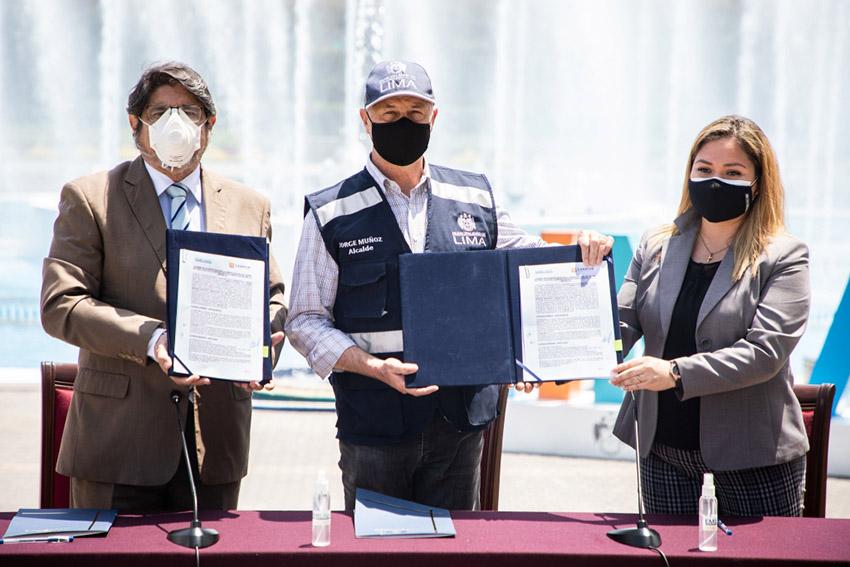Municipalidad de Lima firma acuerdo con Canatur para reactivar el turismo en la capital