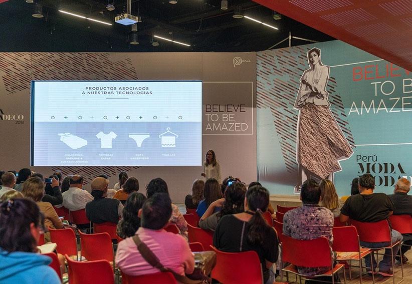 Empresarios conocen las nuevas tendencias en Perú Moda