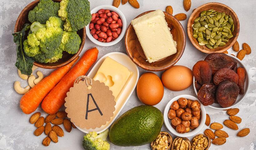 Alimentos ricos en vitamina A