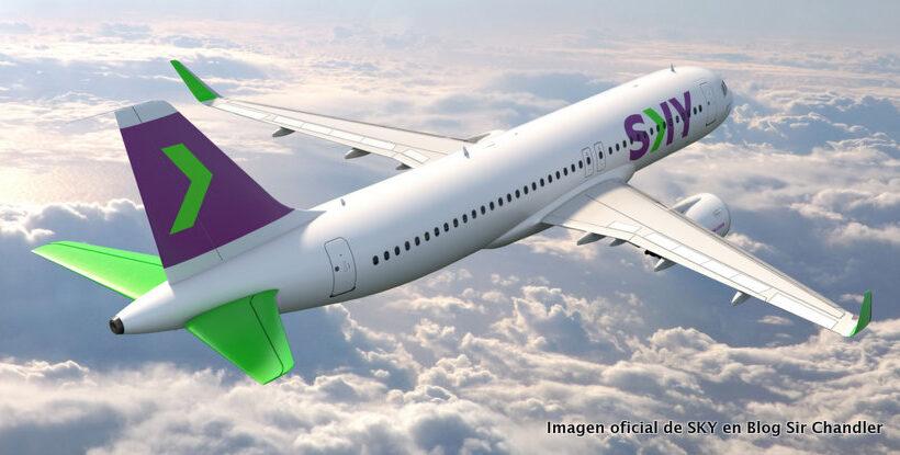 La aerolínea Sky informó que es la primera low cost en América Latina en contar con una flota compuesta en su totalidad por el modelo A320neo