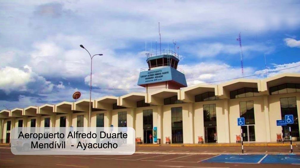 Los vuelos comerciales en el Aeropuerto Coronel FAP Alfredo Mendívil Duarte de Ayacucho se reanudaron este viernes,
