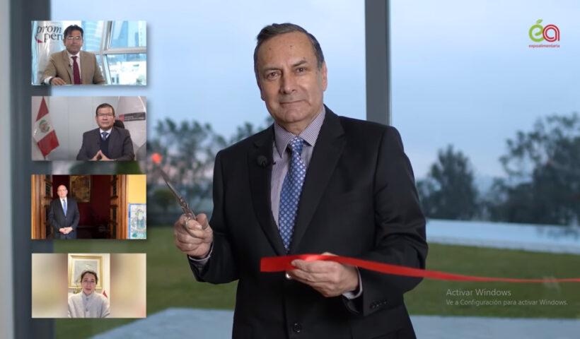 Inauguración de Expoalimentaria Virtual 2020