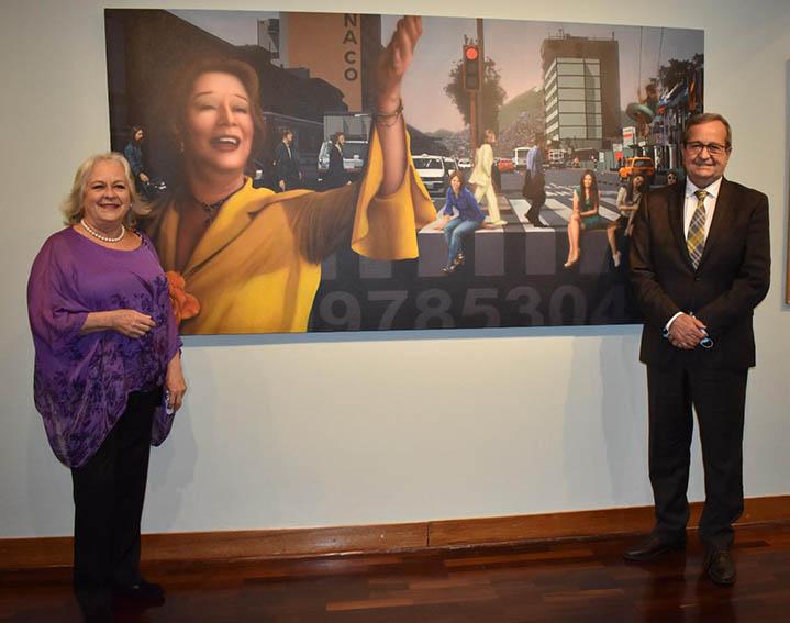 Inmortal Chabuca Granda recibió homenaje en la Huaca Pucllana