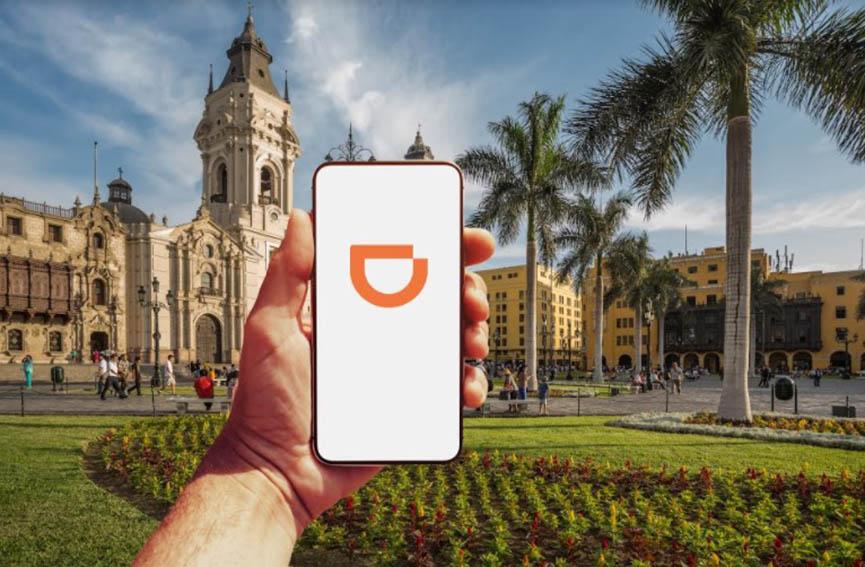 DiDi, app china de taxi por aplicativo, ingresa a Perú a competir contra Uber, Cabify y Beat