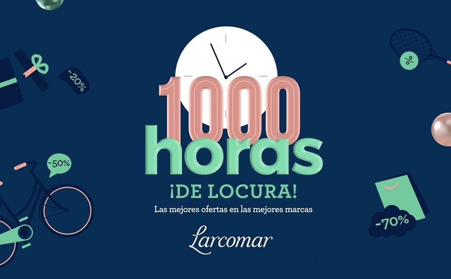 """La campaña de ofertas y descuentos """"1000 Horas de Locura"""", que Parque Arauco ha lanzado se encuentra a pocos días de terminar"""