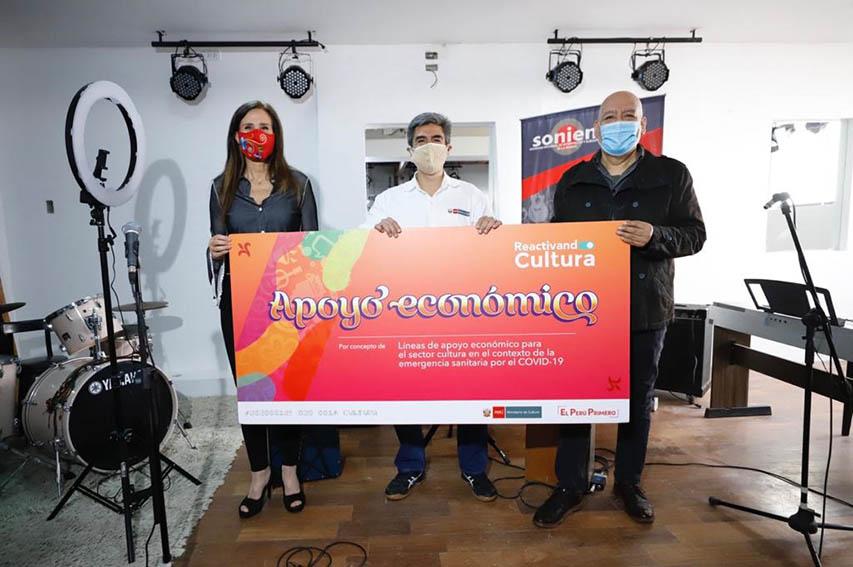 Ministerio de Cultura apoya a difusores de la Canción Criolla