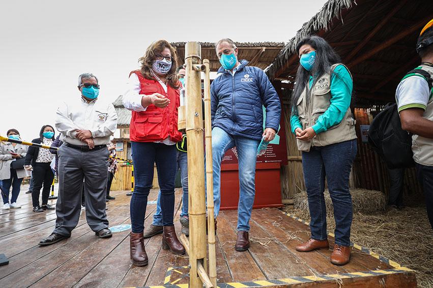 La Municipalidad de Lima anuncia el reinicio de actividades turísticas en el humedal Pantanos de Villa,