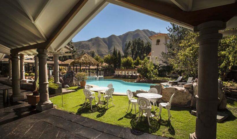 Piscina Hotel Aranwa en el Valle Sagrado - Cusco