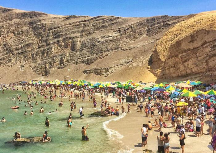 Turistas nacionales y extranjeros ya visitan Paracas