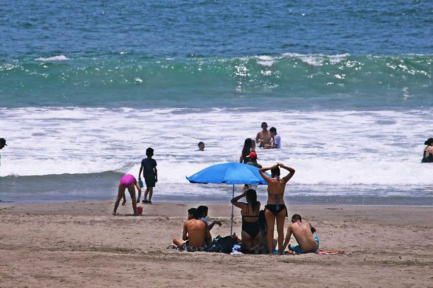 El uso de las playas estará permitido solo de lunes a jueves