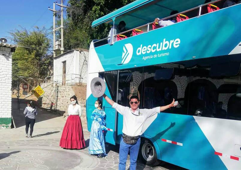 Atractivos de Moquegua serán admirados desde bus panorámico