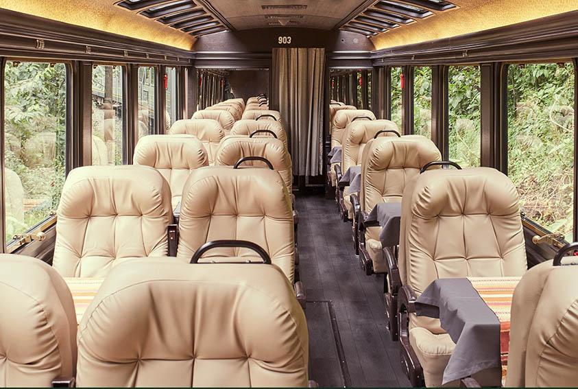 Inca Rail presentó su nuevo servicio The Voyager Premium