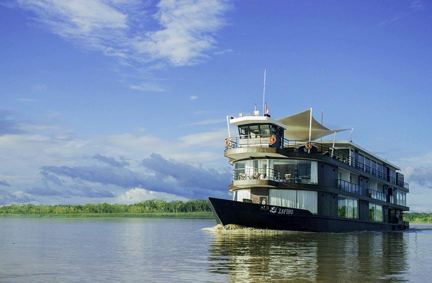 Jungle Experiences Amazon River Cruises, anunció sus primeras salidas a través de La Perla y Zafiro, sus embarcaciones de aventura y de lujo,