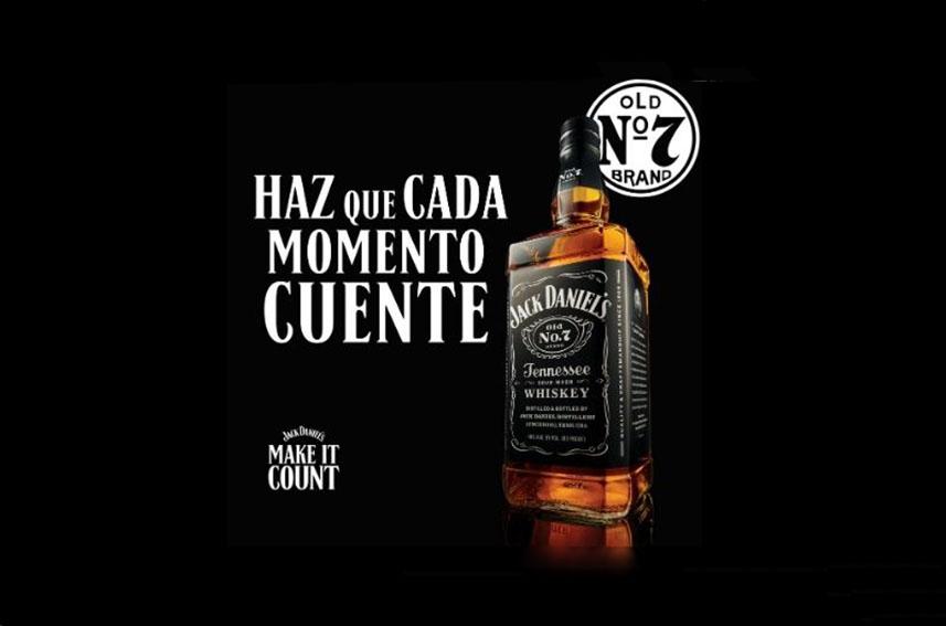 Make it Count es la nueva campaña global que lanza Jack Daniel's
