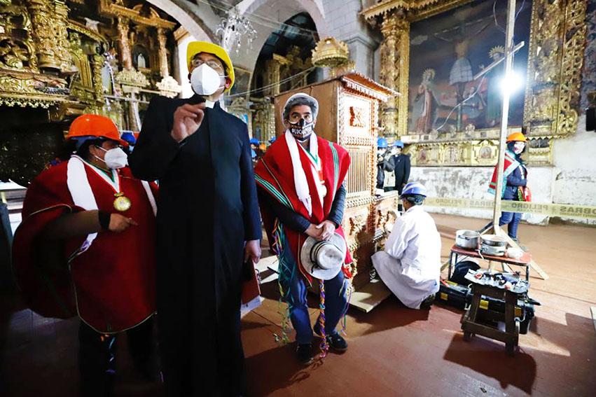 Dos iglesias coloniales de Puno serámn remodeladas y puestas en valor