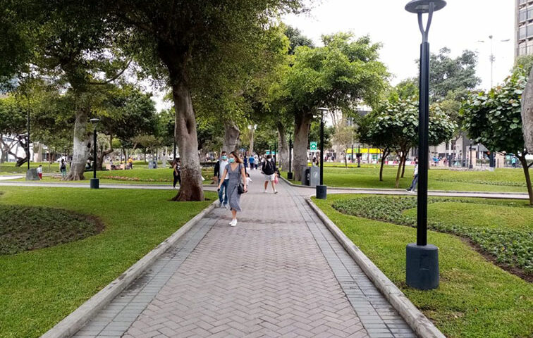 Parque 7 de Junio remozado