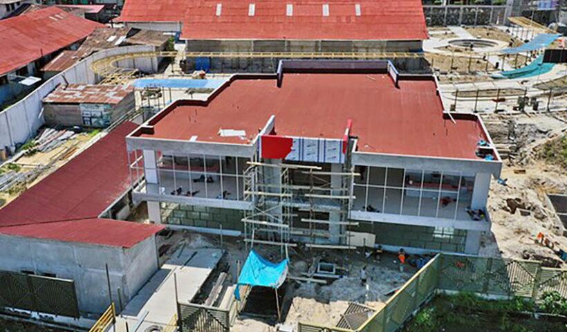 La nueva Terminal de Pasajeros de ENAPU en Iquitos va quedando lista.
