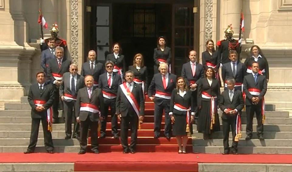 Así quedó conformado en nuevo Gabinete Ministerial Flores-Aráoz