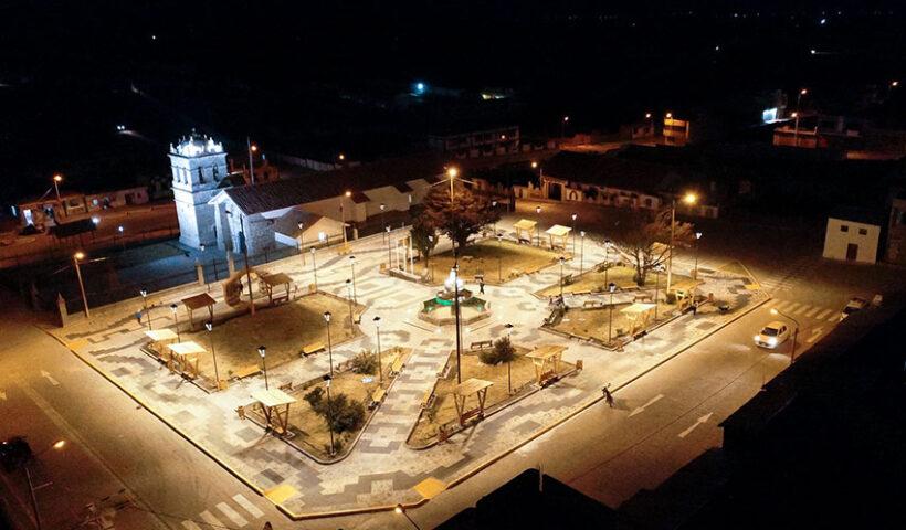 Plaza de Armas de Atuncolla