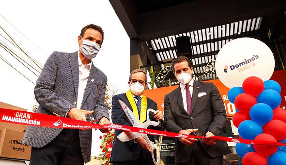 Domino's Pizza inauguración tienda No. 20