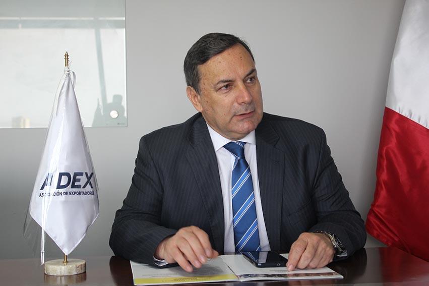 Erik Fischer, presidente de Adex, pide diálogo ante la crisis