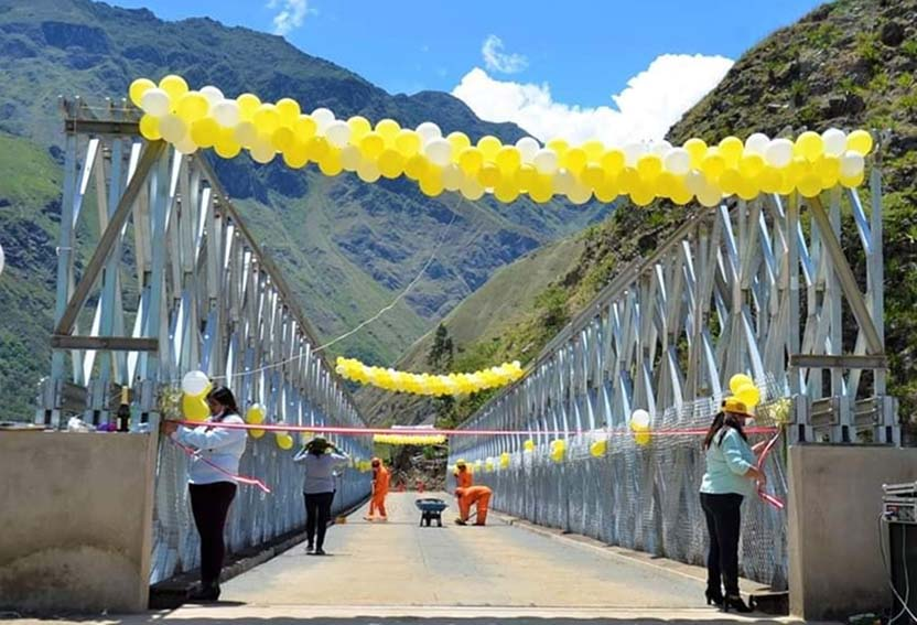 Puente a MachuPicchu