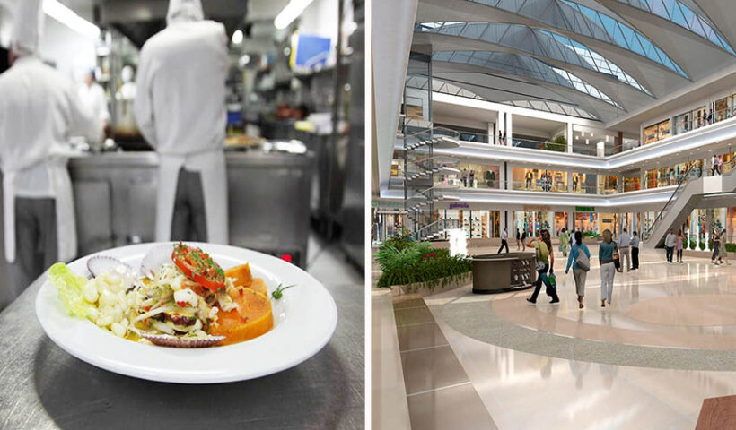 Aumentan aforos en restaurantes y centros comerciales en el país